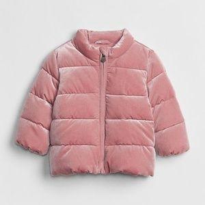 Gap Baby Coldcontrol Max Velvet Puffer Coat
